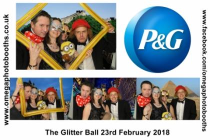 P & G Glitter Ball 8