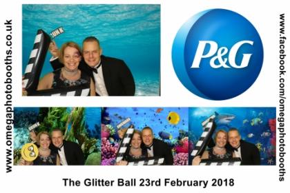 P & G Glitter Ball 10