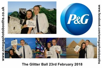 P & G Glitter Ball 12
