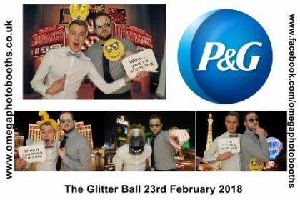 P & G Glitter Ball 13