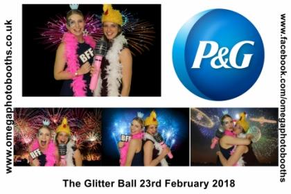 P & G Glitter Ball 14