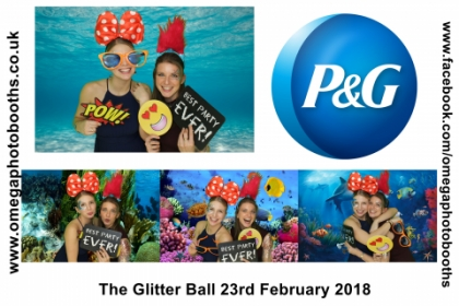 P & G Glitter Ball 16