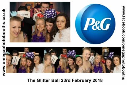 P & G Glitter Ball 18
