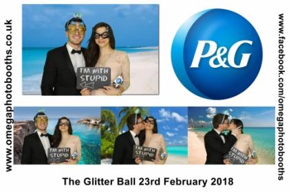 P & G Glitter Ball 20