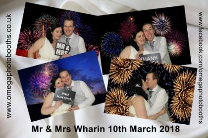 Mr & Mrs Wharin Wedding
