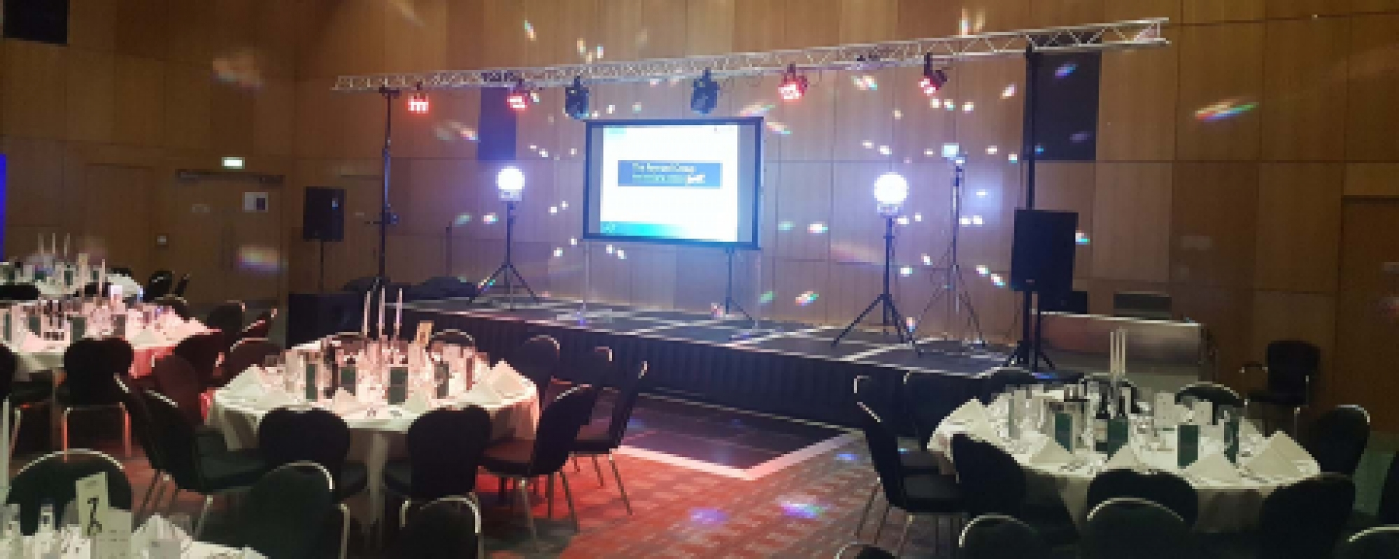 Sound Systems & Light Show Hire