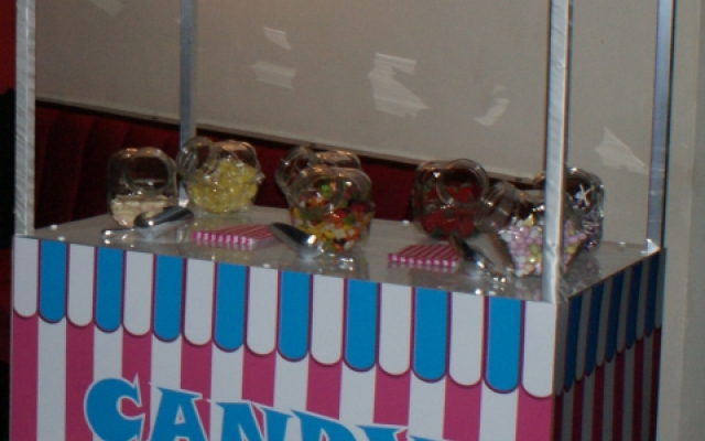 Candy Stand hire now available